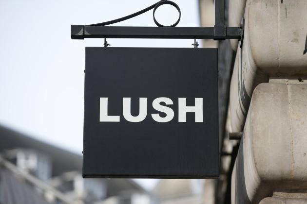 Lush cosmetics in London