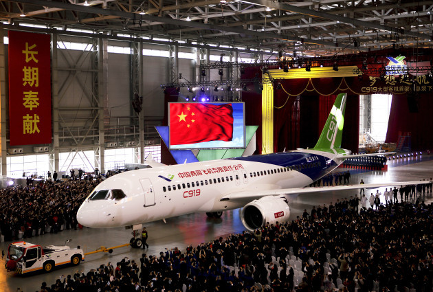 China New Jetliner
