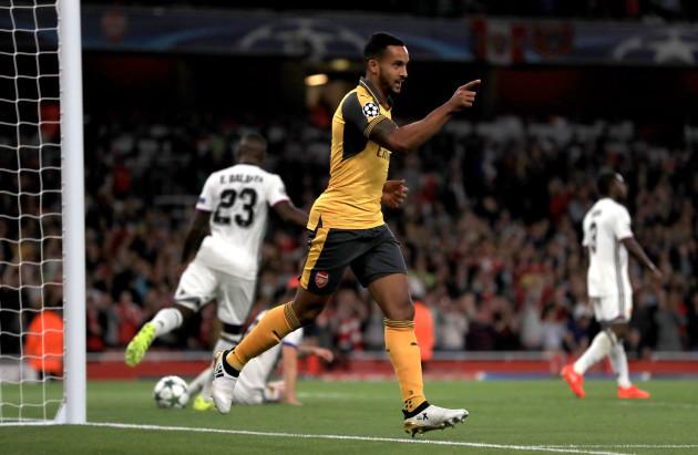 Arsenal v FC Basel - UEFA Champions League - Group A - Emirates Stadium