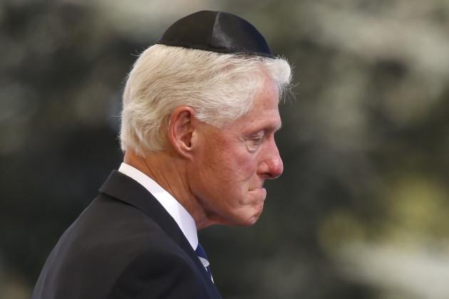 Mideast Israel Peres Funeral