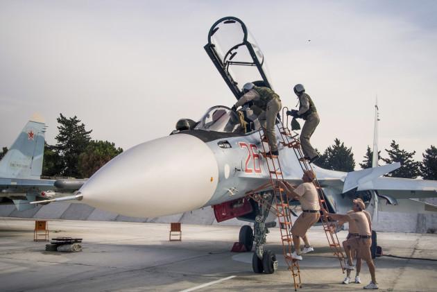 Mideast Syria Russia Talks