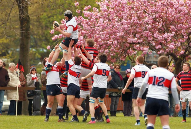 Old Wesley secure a lineout