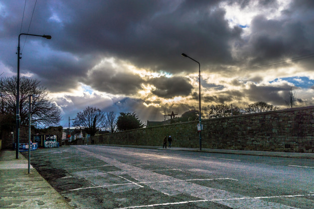 REALLY BLACK SKY IN GRANGEGORMAN REF-101638