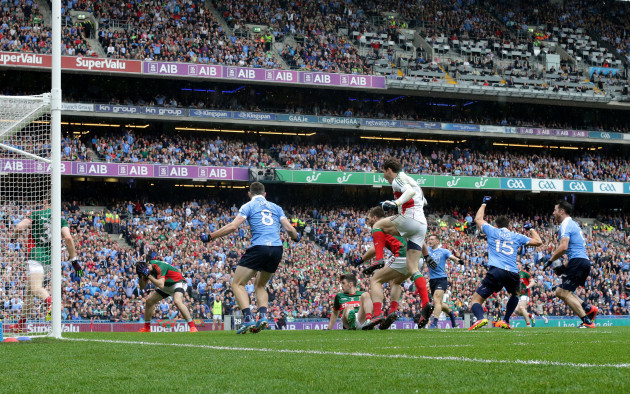 Bernard Brogan celebrates after his sides first goal