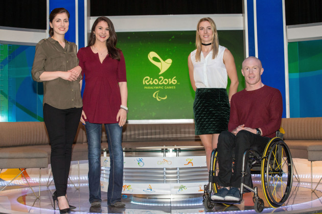 Joanne Cantwell and Daráine Mulvihill with Natalya Coyle and Mark Rohan