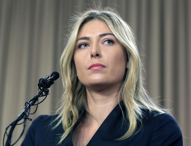 Sharapova Appeal