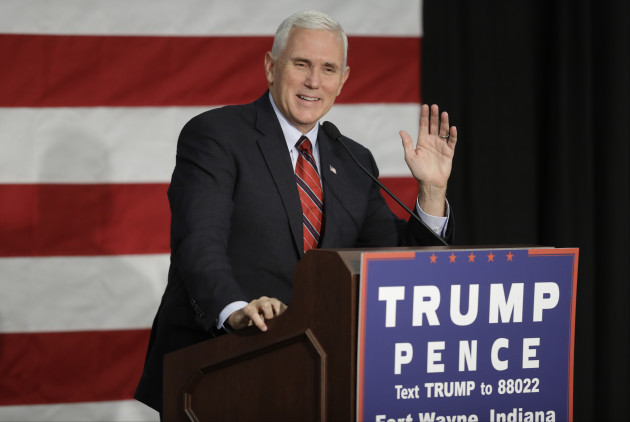 Campaign 2016 Pence