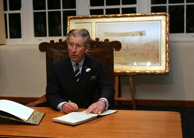 Prince Charles - Australia Visit - Melbourne