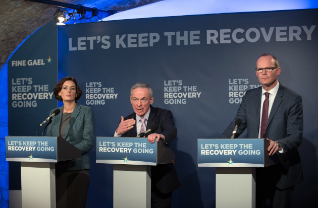 Fine Gael's Minister Bruton, Coveney and candidate