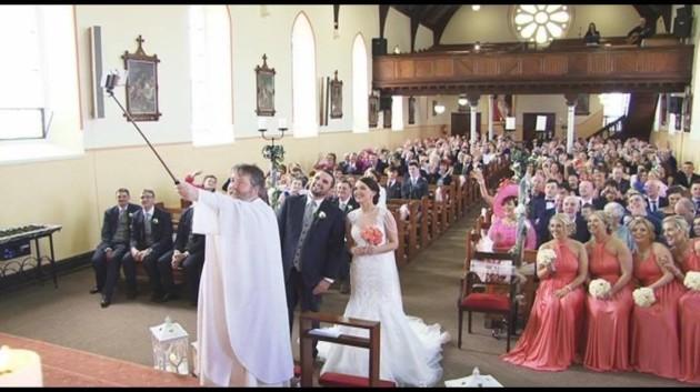 priest selfie