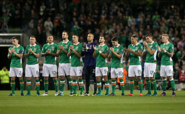 Republic of Ireland v Georgia - 2018 FIFA World Cup Qualifying - Group D - Aviva Stadium