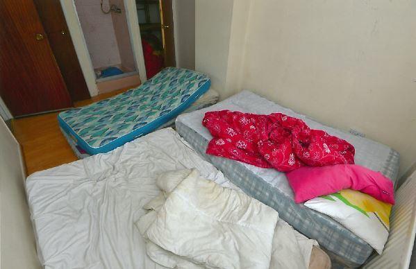 trafficking bedroom