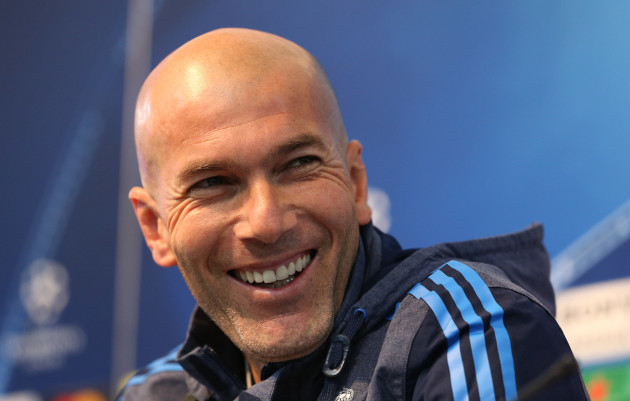 Manchester City v Real Madrid - UEFA Champions League - Semi-Final - First Leg - Real Madrid Training and Press Conference - Etihad Stadium