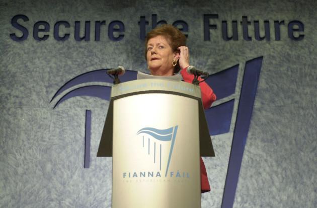 Fianna Fail Conference O'Rourke