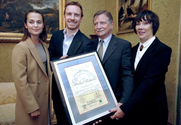 Michael Fassbender Innisfallen Award3