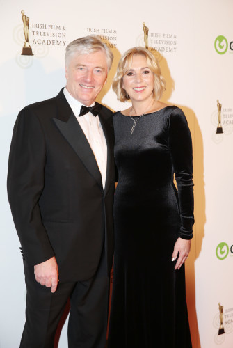 07/10/2016. IFTA Awards . Pictured is Pat Kenny an