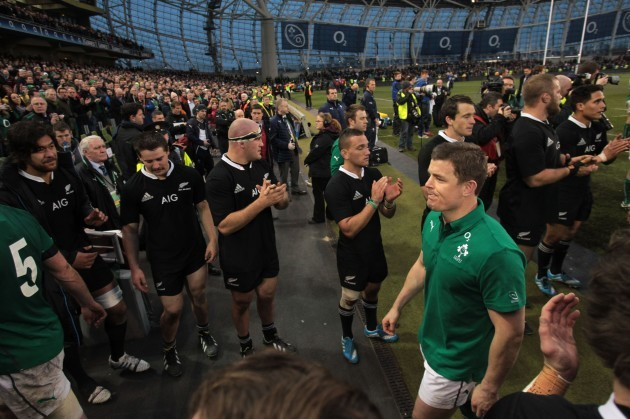 Rugby Union - Guinness Series 2013 - Ireland v New Zealand - Aviva Stadium