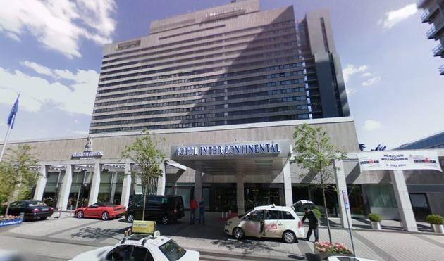 Intercontinental hotel in Frankfurt