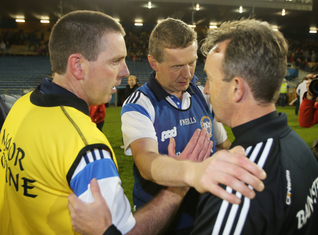 Gerry O'Connor and Donal Moloney with Richie Mulrooney