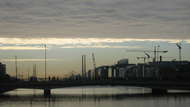 construction dublin skyline