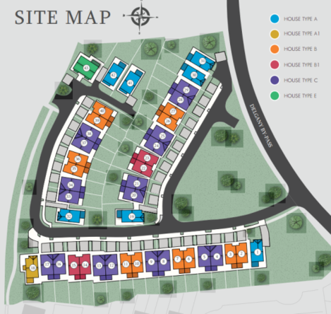 Thorndale map