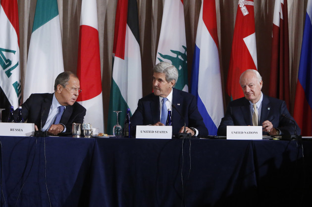 United Nations Syria-Diplomacy
