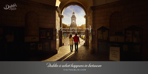 New €1.6m Dublin Marketing Campaign to Encourage British Visit