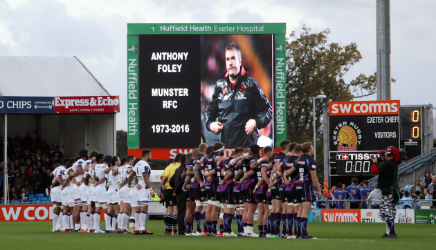 Exeter Rugby v ASM Clermont Auvergne - European Champions Cup - Pool Five - Sandy Park