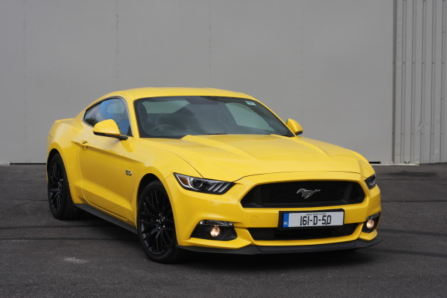Review: The Ford Mustang V8 is loud, brash, and a whole lot