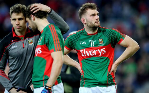 Aidan O'Shea dejected
