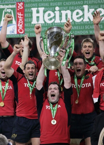 Anthony Foley and Munster team