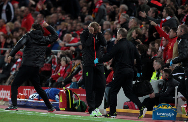 Liverpool v Manchester United - Premier League - Anfield