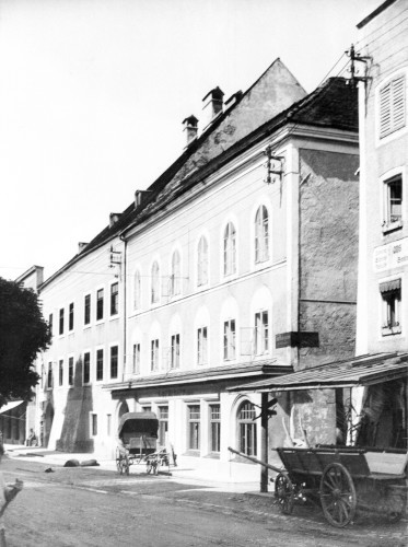 Hitler Birthplace 1938