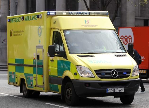 FILE PIC 04/08/2016 Ambulance dispute.