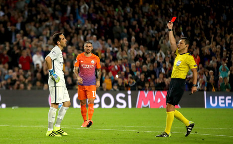 Barcelona v Manchester City - UEFA Champions League - Group C - Camp Nou Stadium