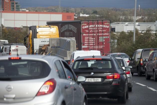 11/11/2015. Traffic Accidents on M50 Motorways
