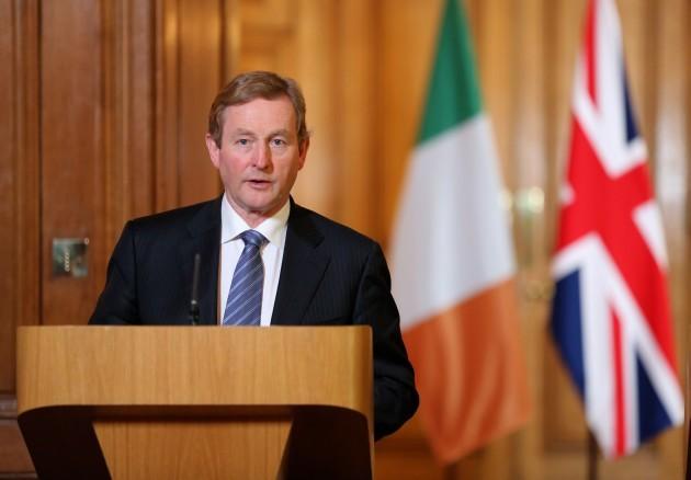 Irish Taoiseach visit to the UK