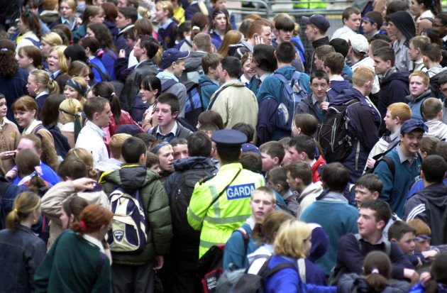 YOUNG PEOPLE INDUSTRIAL ACTION DISPUTES CROWDS EDUCATION CRISIS