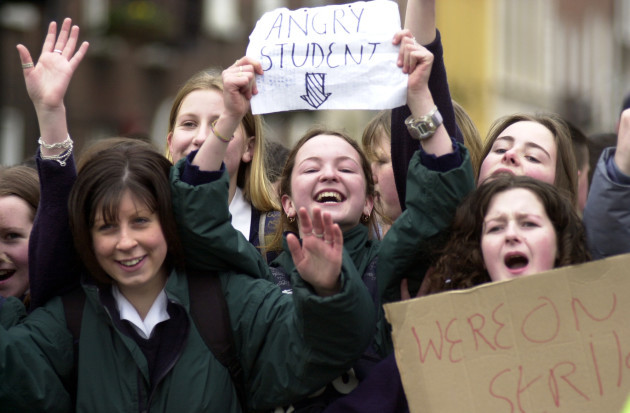STUDENT STRIKES YOUNG PEOPLE EDUCATION CRISIS