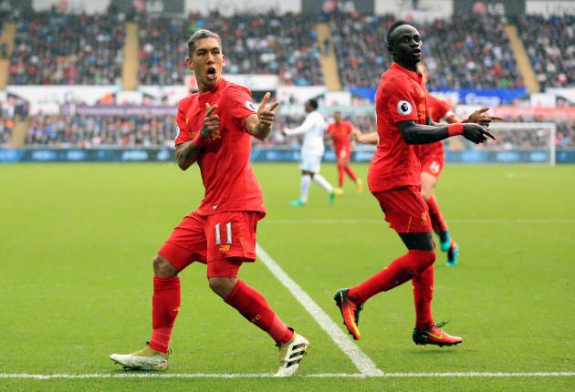 bd6f536b1674 Swansea City v Liverpool - Premier League - Liberty Stadium