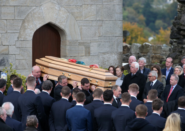 Anthony Foley Funeral - St Flannan's Church