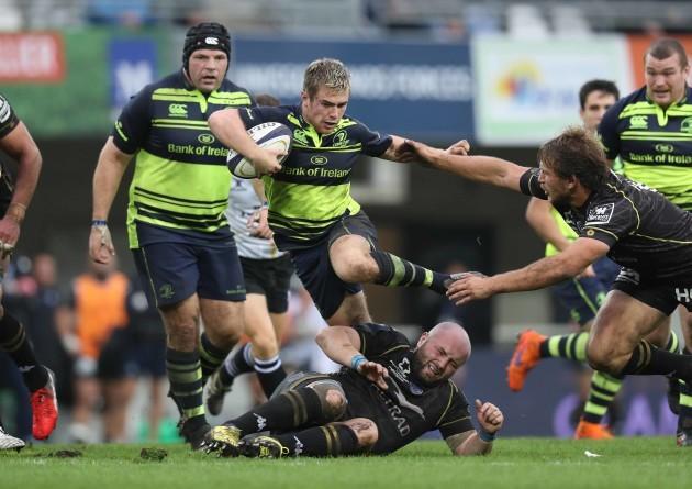 Leinster's Luke McGrath