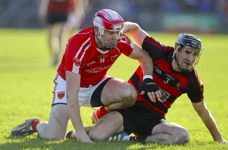 Barry Coughlan in action against Eoin Kelly