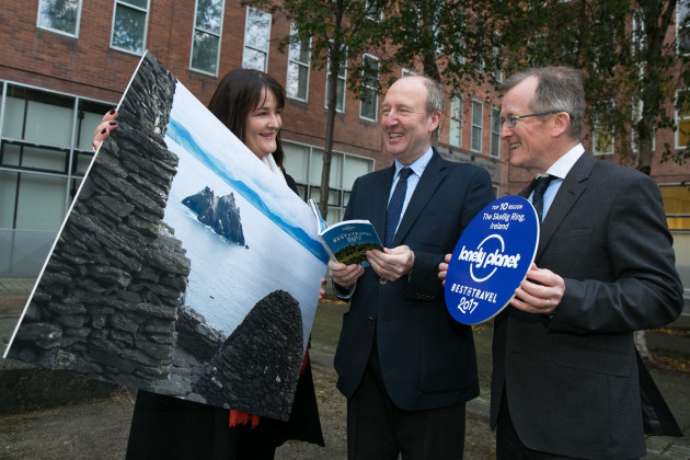 Min Shane Ross and Tourism Ireland welcome latest Lonely Planet accolade 1