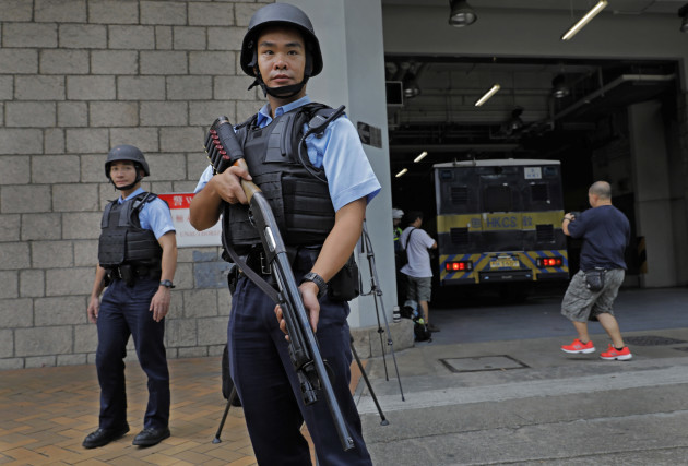 Hong Kong British Banker Murder Trial