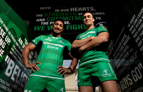 Bundee Aki and Ultan Dillane