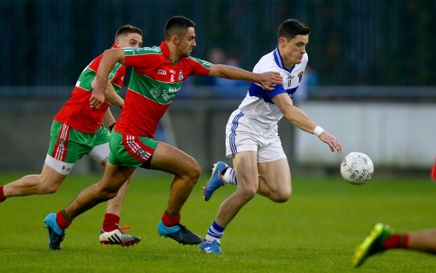 Diarmuid Connolly with James McCarthy