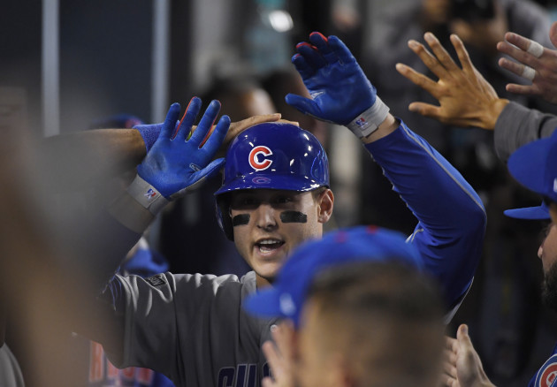 NLCS Cubs Dodgers Baseball