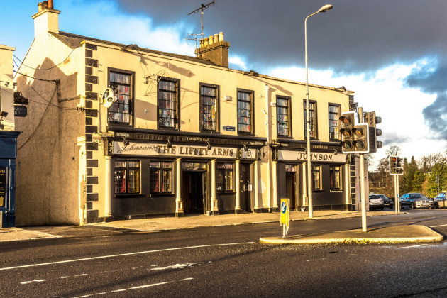The Liffey Arms Pub: Newbridge - County Kildare (Ireland)