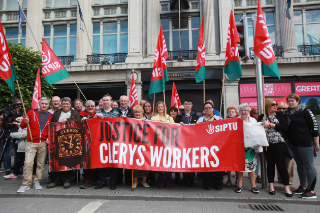 12/6/2016. Clerys One Year Anniversary Protests